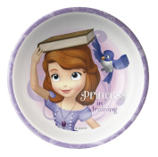 Zak! Designs Cereal Bowl with Sofia The First Graphics, Break-resistant and BPA-free Melamine