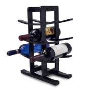 Sorbus® Bamboo Wine Rack - Holds 12 Bottles of Your Favourite Wine - Sleek and Chic Looking Wine Rack