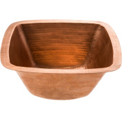 Premier Copper Products Square Bar/Prep Sink in Polished Copper