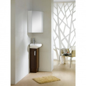 Milan 38cm Vanity with Vitreous China Sink Top