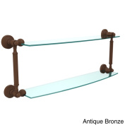 Waverly Place Collection 60cm 2-tiered Glass Shelf