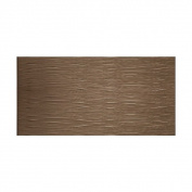 Fasade Waves Horizontal Argent Bronze 1.2m x 2.4m Wall Panel