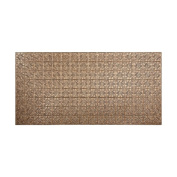 Fasade Traditional Style #1 Cracked Copper Wall Panel