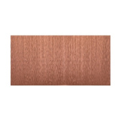 Fasade Vertical Ripple Argent Copper 1.2m x 2.4m Wall Panel