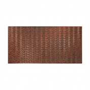 Fasade Current Horizontal Moonstone Copper 1.2m x 2.4m Wall Panel
