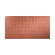 Fasade Ripple Vertical Argent Copper 1.2m x 2.4m Wall Panel