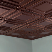 Fasade Coffer Oil Rubbed Bronze 0.2sqm Lay-in Ceiling Tile