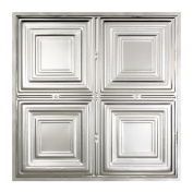 Great Lakes Tin Syracuse Clear 0.6m x 0.6m Lay-in Ceiling Tile