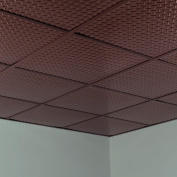 Fasade Diamond Plate Revealed Edge Oil Rubbed Bronze 0.2sqm Lay-in Ceiling Tile