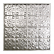 Great Lakes Tin Hamilton Clear 0.6m x 0.6m Lay-In Ceiling Tile