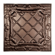 Great Lakes Tin Toledo Penny Vein 0.6m x 0.6m Nail-Up Ceiling Tile