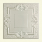 Great Lakes Tin Niagara Antique White 0.6m x 0.6m Lay-In Ceiling Tile