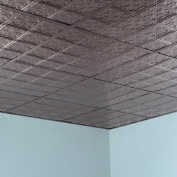 Fasade Traditional Style #10 Brushed Nickel 0.2sqm Lay-in Ceiling Tile