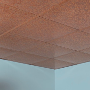 Fasade Flat Cracked Copper 0.2sqm Lay-in Ceiling Tile
