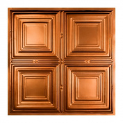 Great Lakes Tin Syracuse Copper 0.6m x 0.6m Lay-in Ceiling Tile