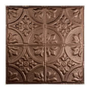 Great Lakes Tin Jamestown Penny Vein 0.6m x 0.6m Nail-up Ceiling Tile