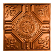 Great Lakes Tin Rochester Copper 0.6m x 0.6m Lay-In Ceiling Tile