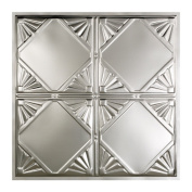 Great Lakes Tin Erie Unfinished 0.6m x 0.6m Lay-In Ceiling Tile