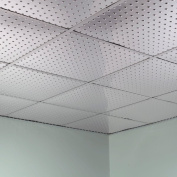 Fasade Minidome Brushed Aluminium 0.2sqm Lay-in Ceiling Tile