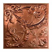 Great Lakes Tin Saginaw Vintage Bronze 0.6m x 0.6m Lay-in Ceiling Tile
