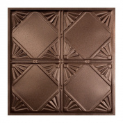 Great Lakes Tin Erie Penny Vein 0.6m x 0.6m Lay-In Ceiling Tile