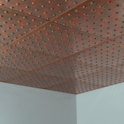 Fasade Dome Copper Fantasy 0.2sqm Lay-in Ceiling Tile