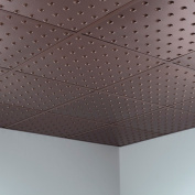 Fasade Dome Argent Bronze 0.2sqm Lay-in Ceiling Tile