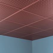 Fasade Diamond Plate Revealed Edge Argent Copper 0.2sqm Lay-in Ceiling Tile