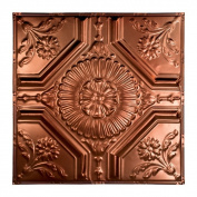 Great Lakes Tin Rochester Vintage Bronze 0.6m x 0.6m Nail-Up Ceiling Tile