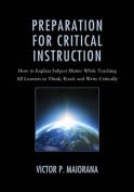 Preparation for Critical Instruction