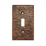 Premier Copper Products Copper Switchplate Single Toggle Switch Cover