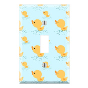 Yellow Duck Decorative Wall Plate Cover