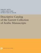 Descriptive Catalogue of the Garrett Collection