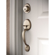 Sure-Loc Satin Nickel Front Entry Handleset