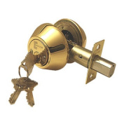 Deadbolt Door Lock Set with Double Cylinder Finish