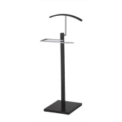 K & B Wood and Metal Valet Stand