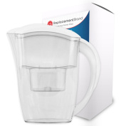 ReplacementBrand Comparable Water Pitcher for the Clear 6 Cup Pitcher Comparable Water Pitcher for the Clear 6 Cup Pitcher