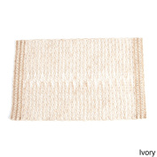 Jute Design Table Runner (set of 1) or Placemats