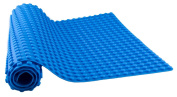 80cm x 38cm Flexible Blue Silicone Roll Up Mat with Drawstring Backpack - Compatible with LEGO DUPLOⓇ