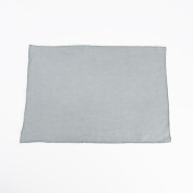 Fringed Design Stone Washed Linen Napkins or Placements