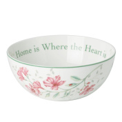 Lenox Butterfly Meadow Home Is Where The Heart Is Bowl