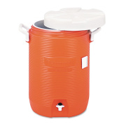 Rubbermaid Commercial Orange 18.9lInsulated Water Cooler