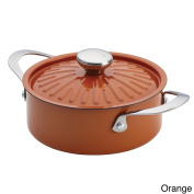 Rachael Ray Cucina Oven-To-Table Hard Enamel Nonstick 2.4l Covered Round Casserole