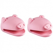 Kitchen Kritters Silicone Pig Pot Holder