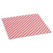 Bagcraft Papercon Red Chequered Grease-Resistant Paper Wrap/Liners