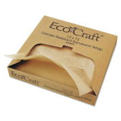 Bagcraft Papercon EcoCraft Grease-Resistant Wrap/Liners