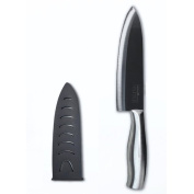 Casa Neuhaus 18cm Black Ceramic Chef Knife