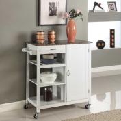 Wooden 3-shelf Kitchen Cart