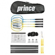 Prince Strike 4 Player Badminton Set
