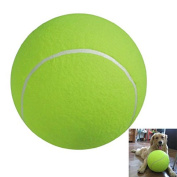 Tinksky 24cm Giant Tennis Ball for Large Pet Toys Outdoor Sports Beach